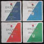 English Rugby Vintage Coasters