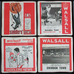 Walsall Football Club Vintage Coasters