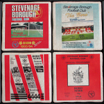 Stevenage Borough Football Club Vintage Coasters