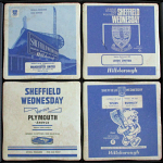 Sheffield Wednesday Football Club Vintage Coasters