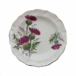 Duchess China Highland Beauty Thistle Butter Tray / Small Dish