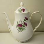 Duchess China Highland Beauty Thistle Coffee Pot