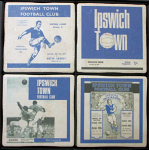 Ipswich Town Football Club Vintage Coasters