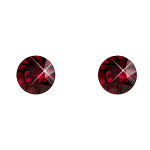 Stud Earrings Diamond Shaped Siam