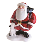Beswick Father Christmas with Dog & Cat