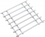 Judge Trivet Chrome Square 25cm x 24cm x 1.5cm