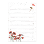 Wrendale Designs - Jotter Pad (Mouse & Poppy)