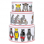 Jimbob Art - Round Cake Tins Set of 3
