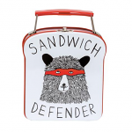 Jimbob Art - Sandwich Tin with Bear Defender