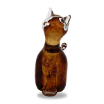 Svaja Paperweight Katie Kitten Brown