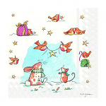 Anita Jeram - Napkins - Luncheon - A Star For You