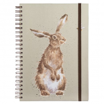 Wrendale Designs - A4 The Hare and the Bee Spiral Bound Notebook