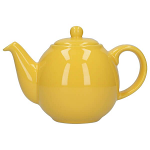 London Pottery Globe Teapot 6 Cup New Yellow