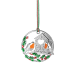 Newbridge Silverware Robin Hanging Decoration