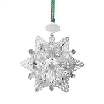 Newbridge Silverware Snowflake Christmas Decoration