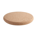 T&G Cork - Large Round Chunky Pot Stand in FSC Certified Cork