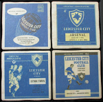 Leicester City Football Club Vintage Coasters