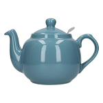 London Pottery Farmhouse Filter Teapot 4 Cup Aqua