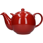 London Pottery Globe Teapot 10 Cup Red