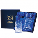 Royal Scot - London - Presentation Box 2 Tall Tumblers (Highballs)