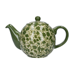 London Pottery Splash 2 Cup Globe Teapot - Green