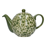 London Pottery Splash 4 Cup Globe Teapot - Green