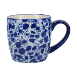 London Pottery Splash Globe Mug - Blue