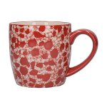 London Pottery Splash Globe Mug - Red