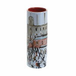 Beswick - Lowry - Going to Work - Small Vase in Red Box