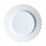Luminarc White Trianon Dinner Plate 24.5cm 9.5in
