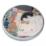 Klimt - Three Ages of Woman - Pocket or Handbag Mirror