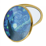 Van Gogh - Starry Night - Pocket or Handbag Mirror