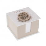 Wrendale Designs - Memo Block - Little Notes (Hedgehog)