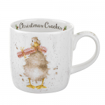 Royal Worcester Wrendale Designs - Christmas Mug - Duck - Christmas Cracker