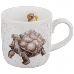 Royal Worcester Wrendale Designs - Mug - Tortoise - Aged To Perfection