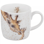 Royal Worcester Wrendale Designs - Mug - Giraffe - First Kiss