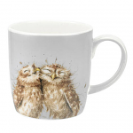 Royal Worcester Wrendale Designs - Mug Large 0.4L - The Twits Owl Gift Boxed