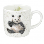 Royal Worcester Wrendale Designs - Mug - Bamboozled Panda