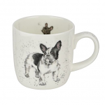 Royal Worcester Wrendale Designs - Mug - Frenchie - French Bulldog