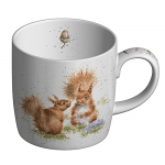 Royal Worcester Wrendale Designs - Mug - Red Squirrel - Between Friends