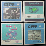 Manchester City Football Club Vintage Coasters