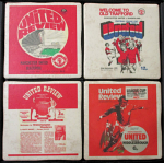 Manchester United Football Club Vintage Coasters