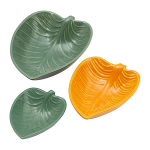Mason Cash In The Forest Leaf Dishes Set of 3