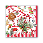 Michel Design Works - Napkins - Cocktail - Peppermint