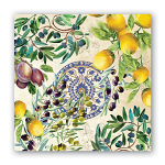 Michel Design Works - Napkins - Cocktail- Tuscan Grove
