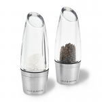 Cole & Mason Precision Milston Acrylic and Stainless Steel Stemless Salt & Pepper Mill Gift Set 140mm