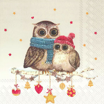 IHR - Napkins - Luncheon - Mummy and Me Owl Owlet