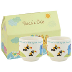 Noahs Ark Stacking Egg Cups Set of 2 Gift Boxed