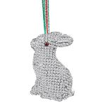 Newbridge Silverware Rabbit Hanging Decoration