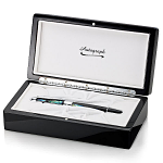 Autograph Night Pearl Rollerball Pen in Wooden Gift Box